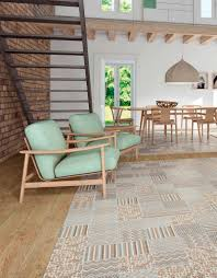 Livingroom Tiles Living Room Tile Floor Porcelain Stoneware Polished Boheme