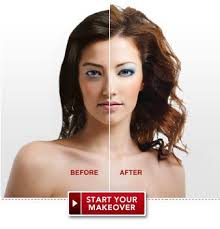 virtual hair colour changer virtual makeover free instant makeover at total beauty