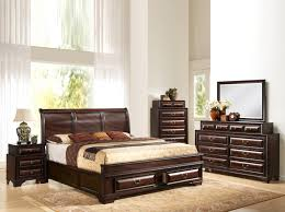 global furniture sarina 5 bedroom set in varnish oak