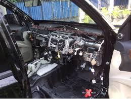 All New Pajero Sport List Kap Mobil Depan Molding Chrome peredam suara mobil mitsubishi pajero sport dakar 2012 peredam