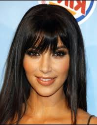 long bob haircut with fringe long bob with bangs black hair