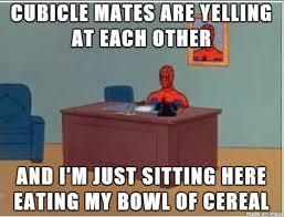 Cubicle Meme - started my new job as a cubicle monkey meme on imgur