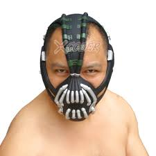 batman the dark knight rises bane mask bane mask u0026 batman bane