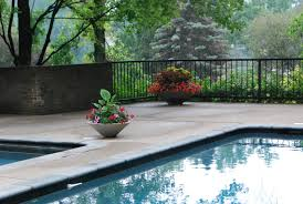 captivating landscape and simple pool fence ideas with preety