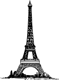 eiffel tower paris clipart cliparts and others art inspiration