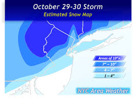 october 29 30 2011 storm summary nyc area weather