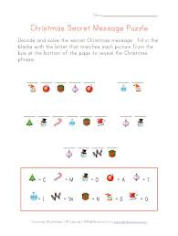 christmas secret message to print christmas and winter