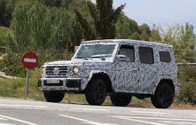 next mercedes amg g63 u0027s interior exposed in spy shots autoguide