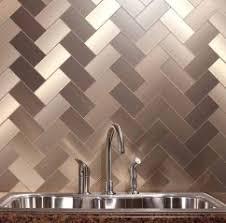 Lowes Metal Backsplash by Interior Metal Tile Backsplashes Hgtv Metal Tile Backsplash Lowes