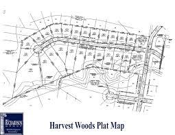 harvest woods plat map trg homebuilders
