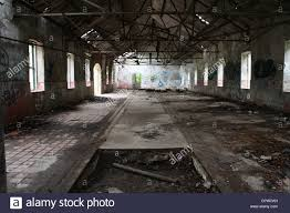 Warehouse Interior by Demolished Factory Interior Warehouse Stock Photo Royalty Free