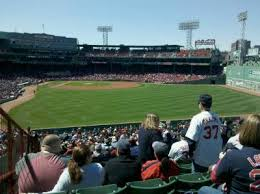 fenway park seating map fenway park section bleacher 43 row 45 home of boston sox