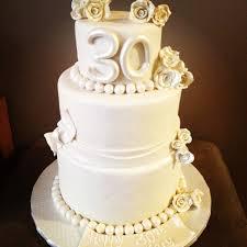 30 wedding anniversary 30th wedding anniversary cake fondant cakes 30