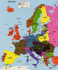 Europe Map 1914 Map Of Eastern Europe 1985 Europe Map 1985 Map Of Eastern