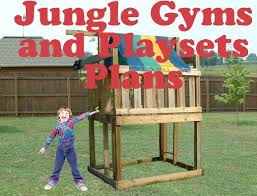 Build A Backyard Fort Jungle Gym Plans Kids Playset And Cubbyhouse Fort Plans Download