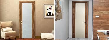 home interior door custom interior doors walnut veneer laminate hinged door