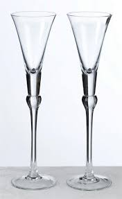 wedding champagne toasting glasses unique red