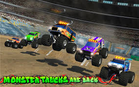 rc monster truck racing monster truck speed stunts 3d android apps on google play