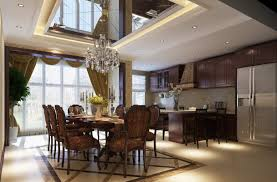 wonderful modern kitchen and dining room design intended ideas