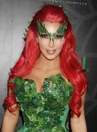 kim kardashian midori green halloween costume party photo 1