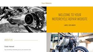 motor website motorcycle repair website templates godaddy
