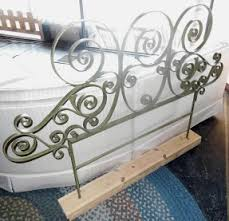 wrought iron headboards queen hollywood thing