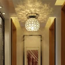 crystal semi flush mount lighting wonderfully bowl shade crystal beads embedded semi flush mount in