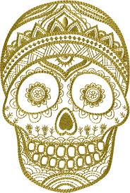 Day Of The Dead Mask Mexican Day Of The Dead Mask