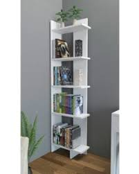 Corner Unit Bookcase Bargains On Latitude Run Corner Unit Bookcase