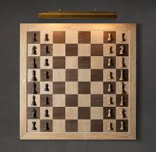 Cool Chess Pieces Giant Wall Mounted Vertical Chess Set The Green Head
