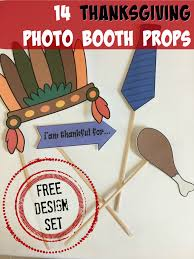 thanksgiving photo booth props free printable thanksgiving photo props and how to use them with