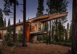 Slanted Roof House Splendid Mid Century Modern House Architecture Design Feat Two