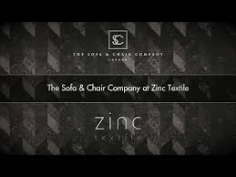 sofa and chair company the sofa u0026 chair company at zinc textile youtube