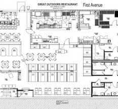 Restaurant Kitchen Floor Plans Kitchen Cabinet Templates Kitchen Floor Planner Generva