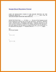 Resume Holder 11 Sample Resolution Letter Resume Holder