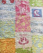 Pottery Barn Madras Crib Bedding by Pottery Barn Toddler Quilt Ebay