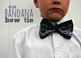 bandana bow bandana bow tie all hot glue a girl and a glue gun
