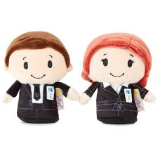 itty bittys the x files mulder and scully stuffed animals set