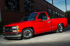 Red Lifted Chevy Silverado Truck - gm efi magazine