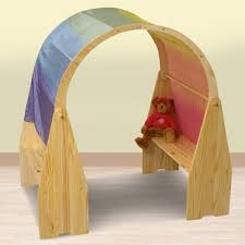 little colorado play table little colorado play stand set with arch clips and silk natural