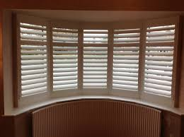 north west london shutters in bay window