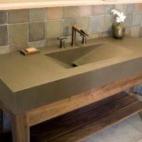 Rustic Bathroom Walls - bathroom furnishing design and decoration using aged solid log