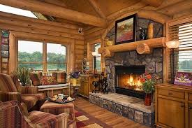 beautiful log home interiors beautiful log mansions with fireplaces the fireplace