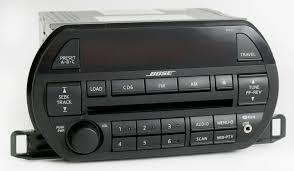 nissan altima 2015 gps nissan 2002 2003 altima bose radio am fm 6 disc cd w aux input