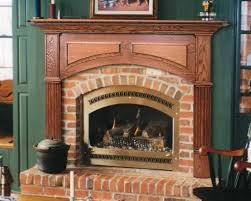 interior interior accent ideas using brick fireplace stylishoms
