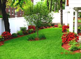 cheap landscape ideas for ranch style home backyard landscaping on