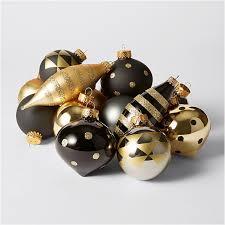 mono luxe 24 glass ornaments target australia