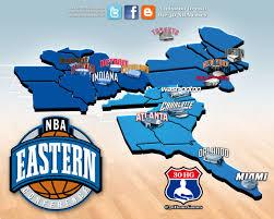 nba divisions map 30 home nba destinations