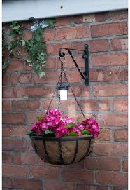 garden plant stand balcony planters solar light basket planters