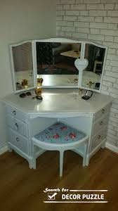 corner dressers bedroom special contemporary corner dressing table styles for small